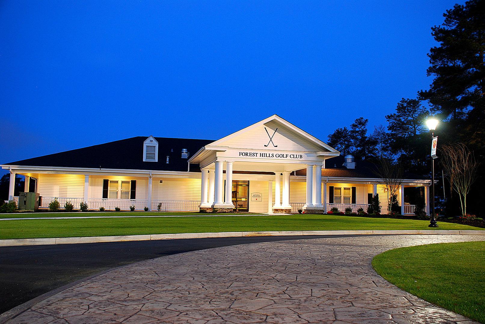 Forest Hills Golf Club Porte Cochere Addition 2km Architects