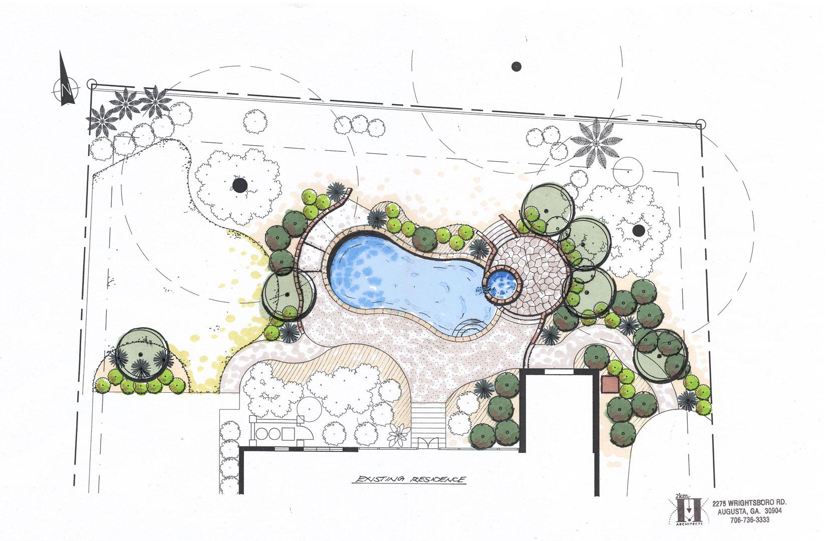 Residential Landscape Hardscape Design