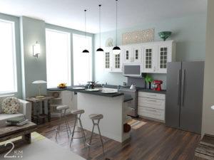 Elegant High Rise Residential Design