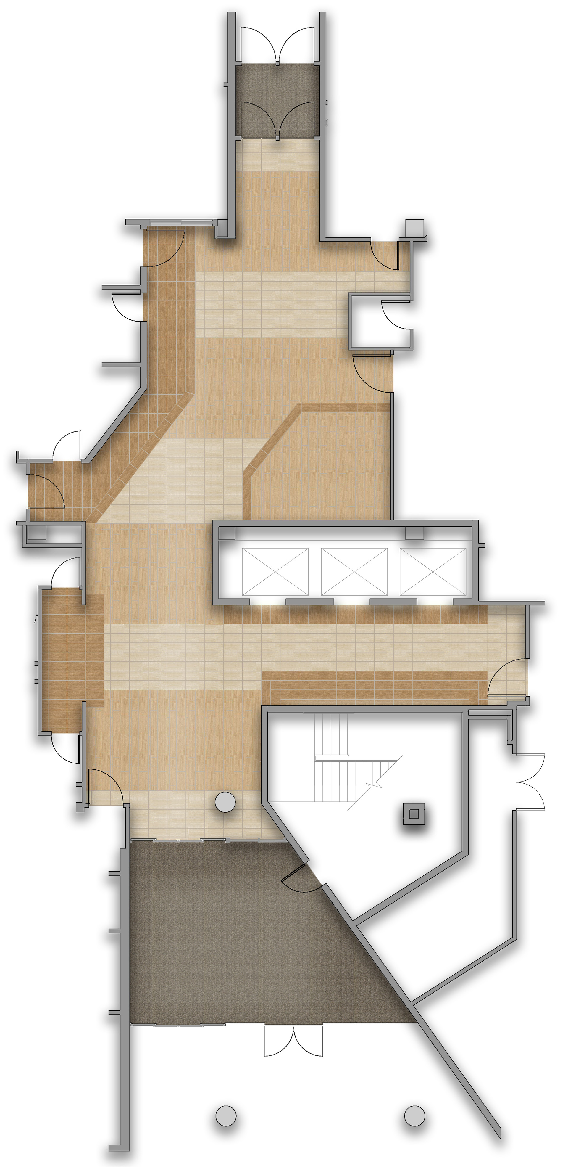 Rendered Flooring Plan 2